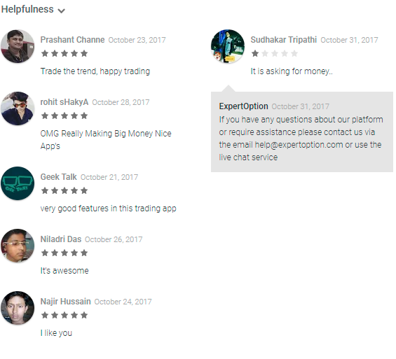 ExpertOption traders comments 13