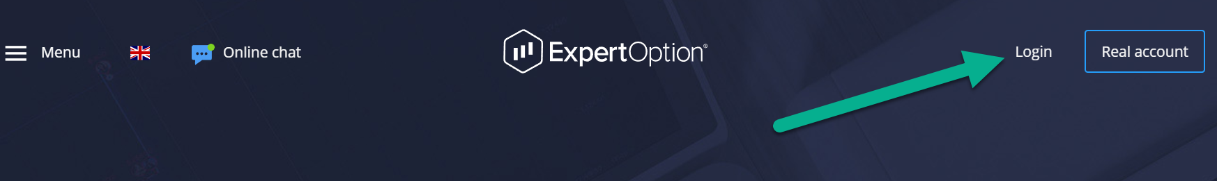 ExpertOption login deposit