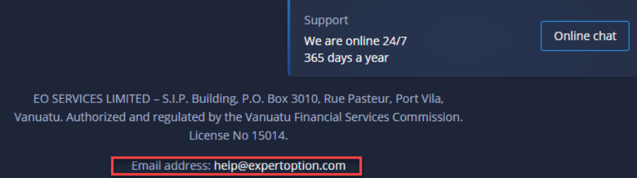 expertoption how close block account