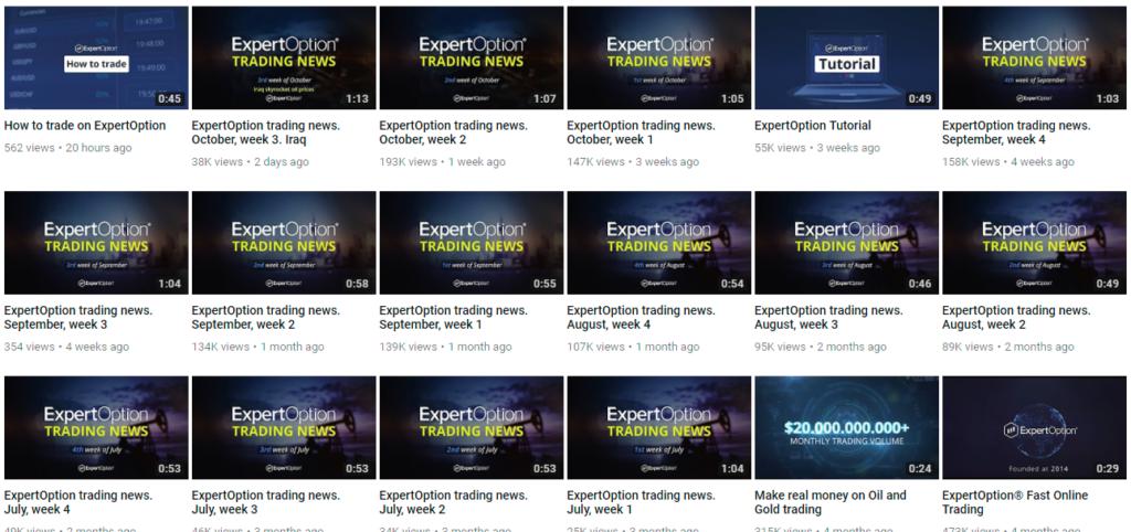 youtube expertoption 2