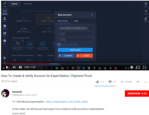 youtube expertoption 7