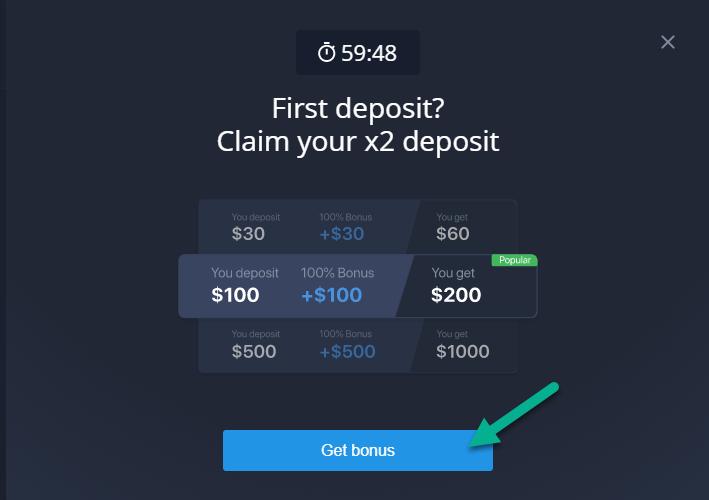 ExpertOption.com bonus