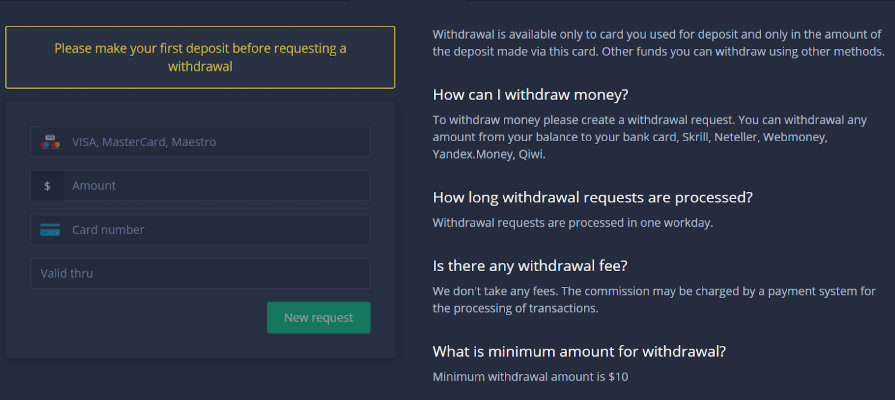 expertoption withdraw money from india