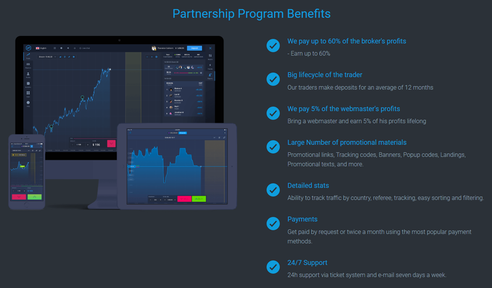 ExpertOption Affiliate Program - CPA Program / Offers